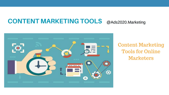 Content Marketing Best Tools for Online Marketers-560x315