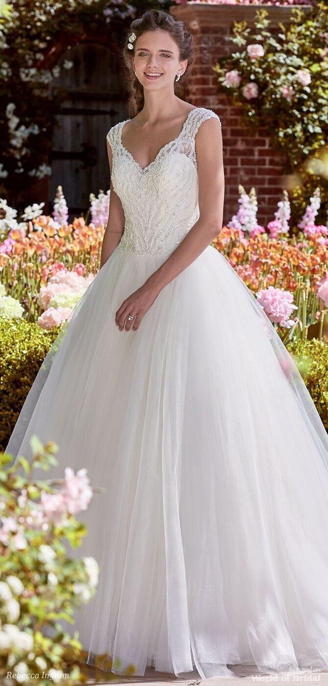 771186befbeb Rebecca Ingram Spring 2018 Bridal Collection - World of Bridal