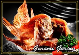 Resep Cara Membuat Ikan Gurami Goreng Garing
