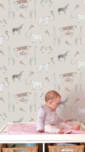 Katie Bourne Interiors Nursery Wallpapers