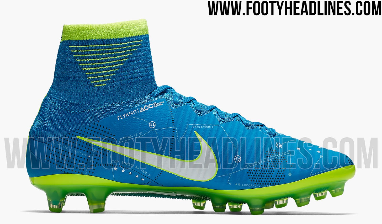 big sale 90fb3 1ad03 ... purchase the most unique and remarkable element of the blue nike  mercurial superfly 5 neymar signature