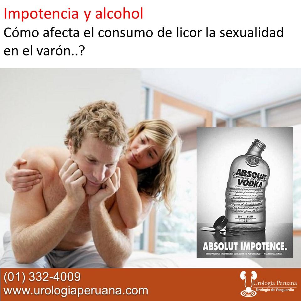 impotencia de vodka en varones