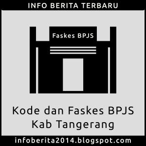 Kode dan Faskes BPJS Kesehatan Kab. Tangerang