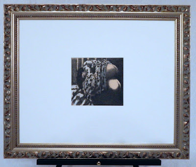 Women in Love I  c. 1995 F. Lennox Campello  6x6.5 inches framed to 19x23 inches.