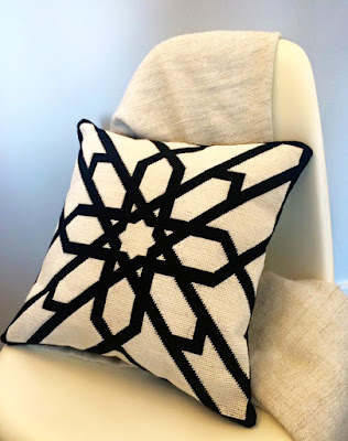 White Sun pillow