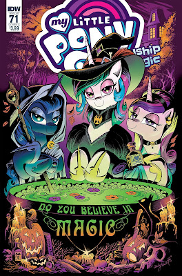 My Little Pony Comic #71 - Do You Believe in Magic? Cover A