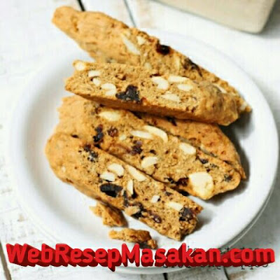 Biscotti cookies, biscotti almond, resep biscotti, resep biscotti cookies,