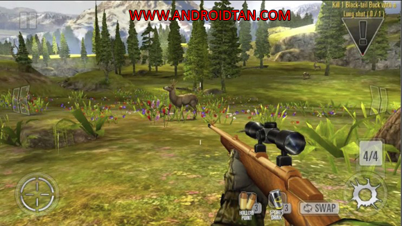 Deer Hunter Classic Mod Apk Unlimited Money Terbaru