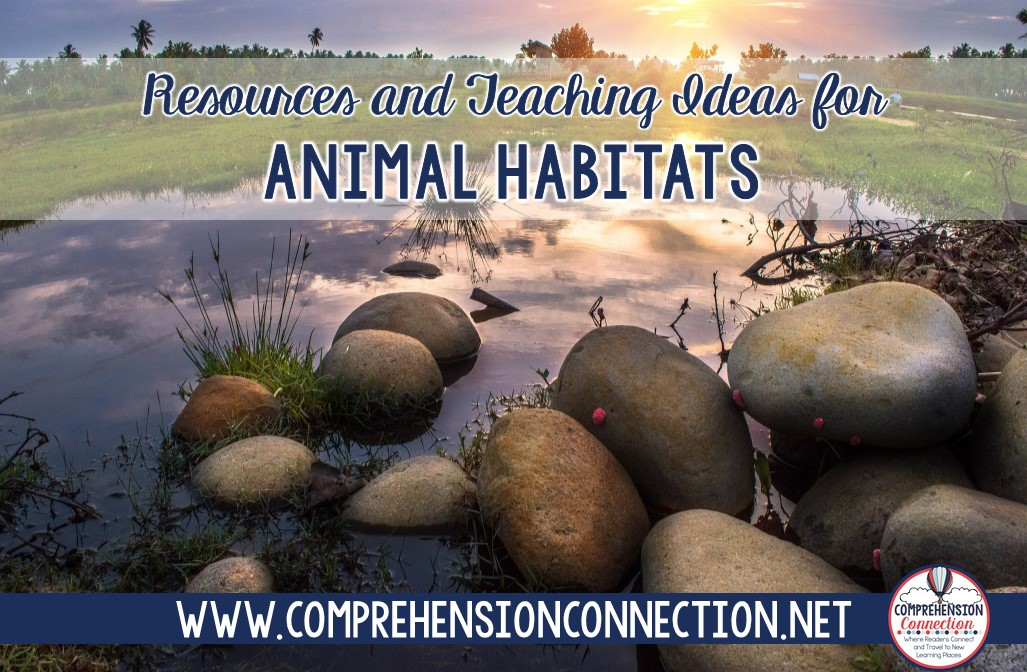 This blog post is all about animal habitats. If you're working on a science unit on this topic, check out all the resources here for a cross curricular unit your kids will enjoy.