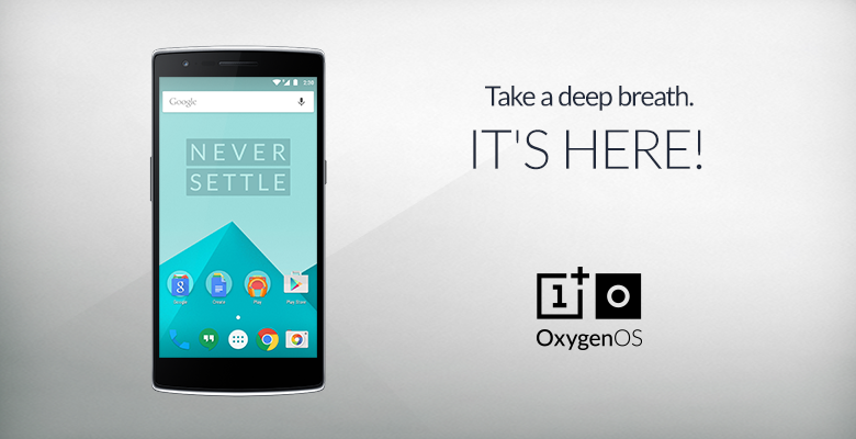 OnePlus Oxygen OS Out Today