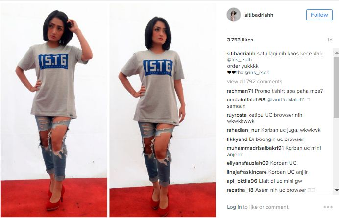 oto Hot Siti Badriah Pamer Paha