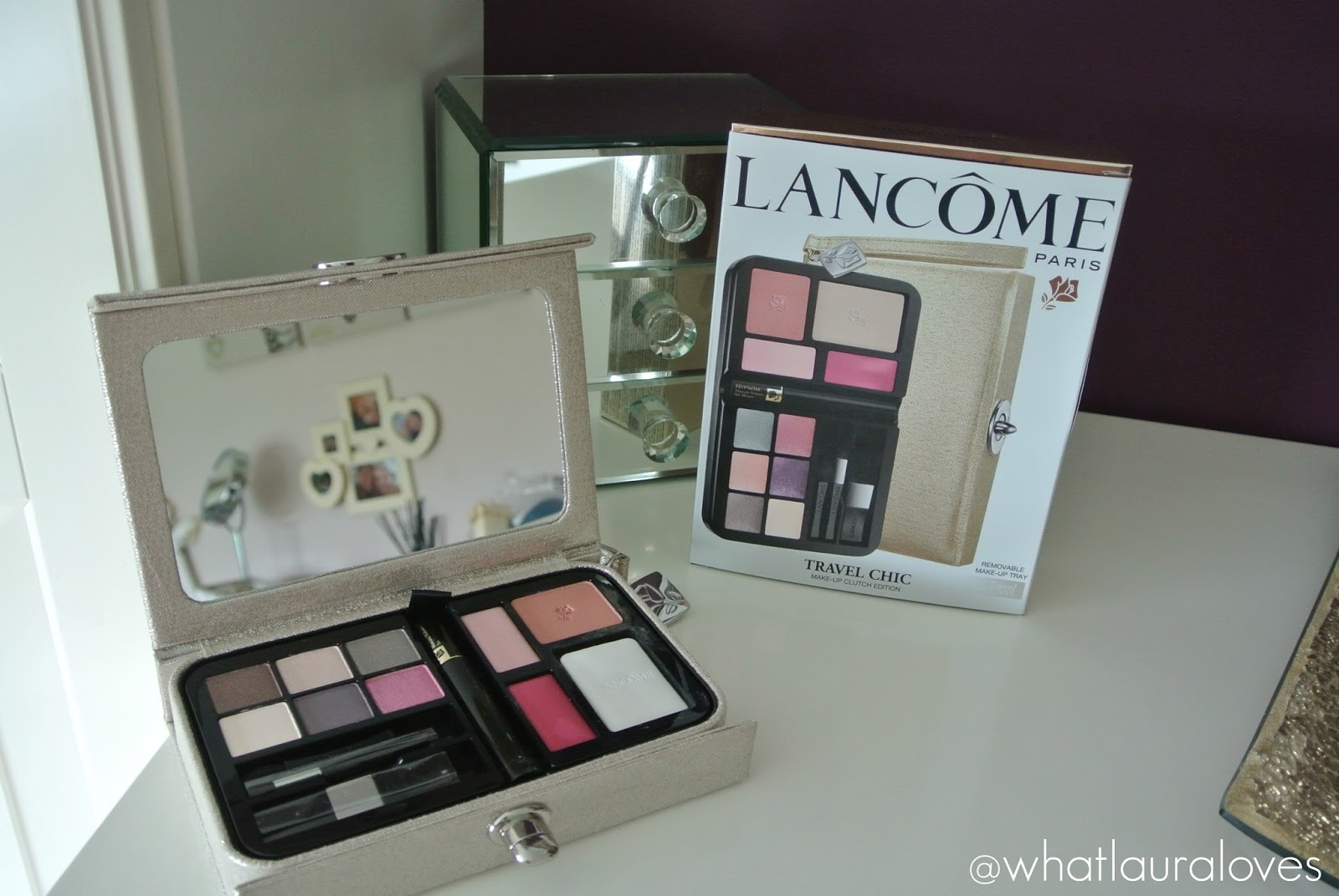 bec832760452 BIZA DUTY FREE MUST HAVE | Lancôme Travel Chic Palette - WhatLauraLoves