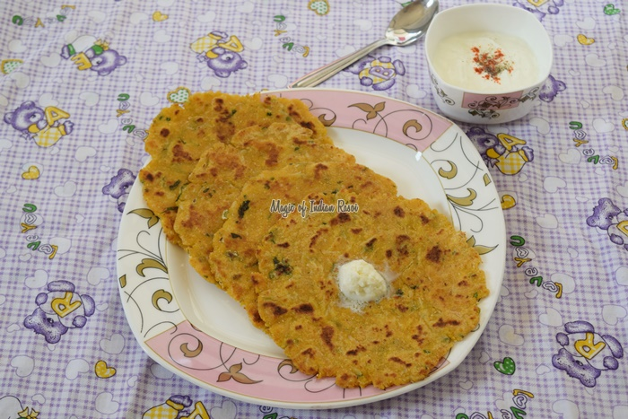 Makai Mooli Ka Paratha - Easy Winter Breakfast Recipe - Magic of Indian Rasoi -Priya R