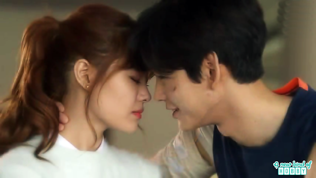 mal ja and kwang tae kiss - Longing For Spring korean Drama