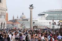 Adriano Celentano vs. Cruise Ships in Venice