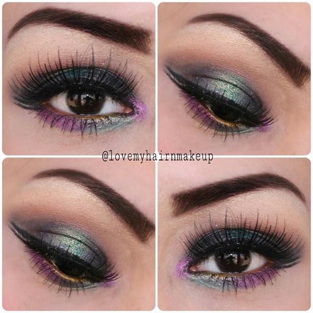 Makeup Lookbook, smokey eyes