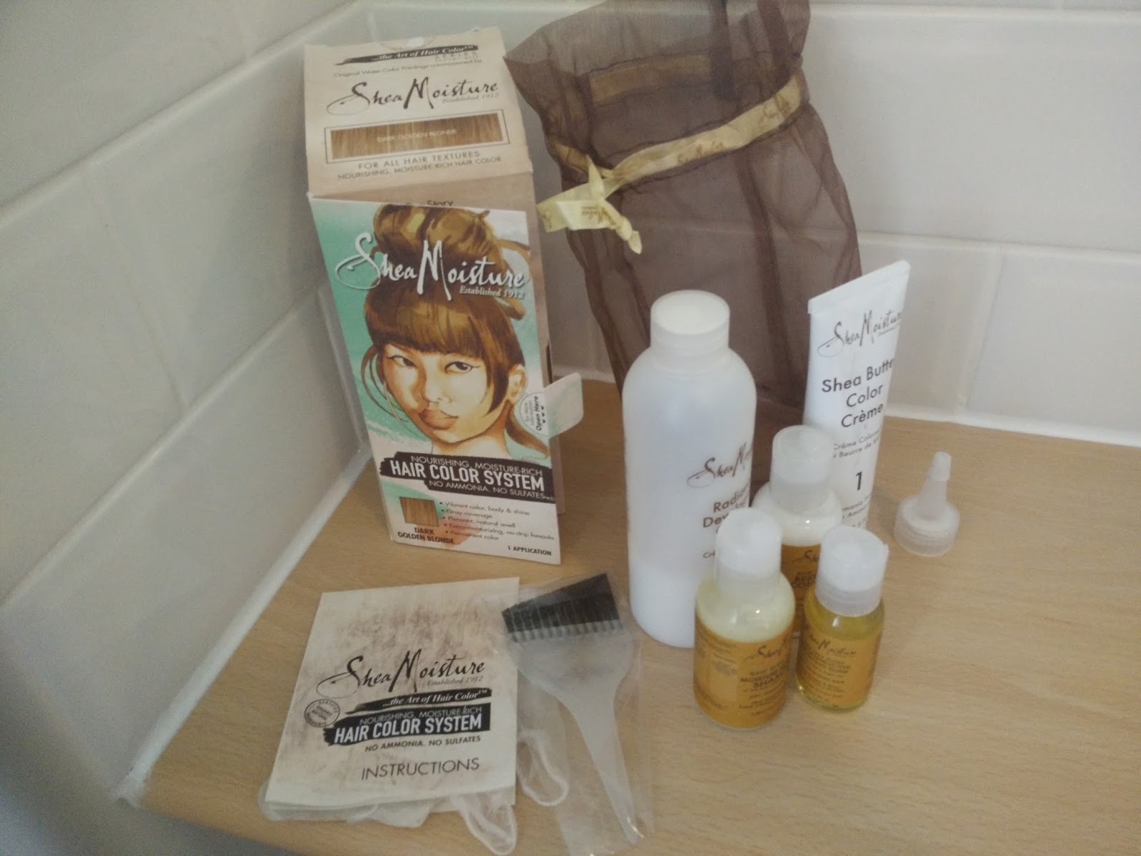 Shea Moisture Hair Color System Review Afrodeity