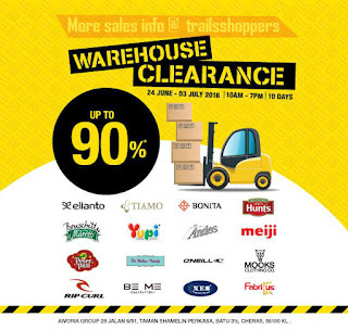 Aivoria Group Warehouse Sales 2016