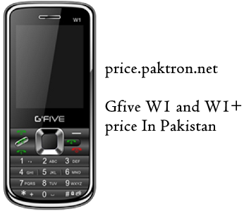 Gfive W1 and W1+ Four SIMs Price