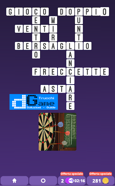 Soluzioni One Clue Crossword livello 25 schemi intermedia  (Cruciverba illustrato)  | Parole e foto