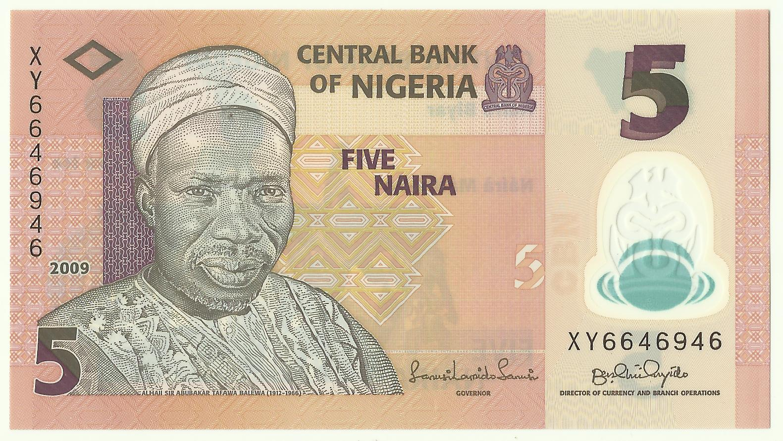 Coin n Currency Collection: Banknotes of Nigeria (Polymer)