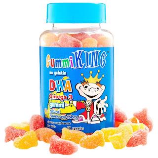 حلوى اوميغا ٣ للاطفال من اي هيرب