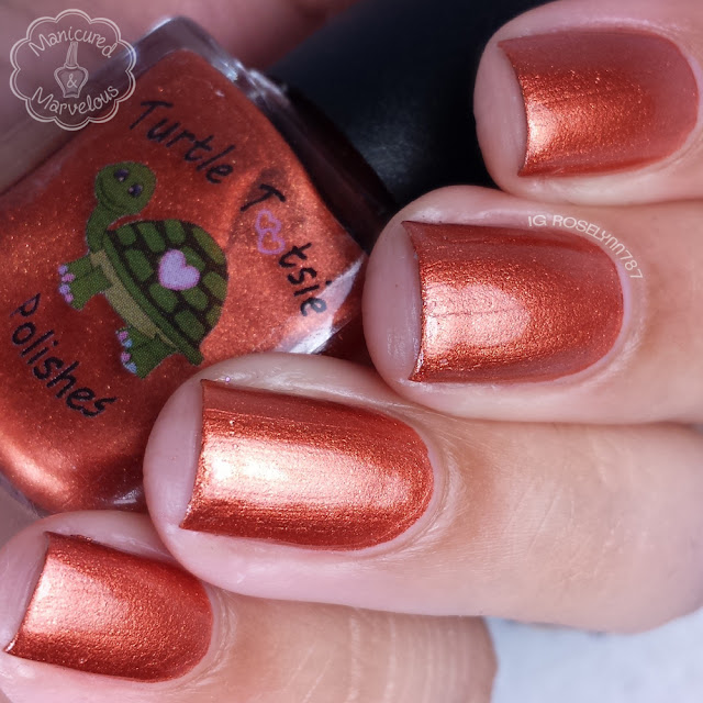 Turtle Tootsie Polish - Blood Curdling