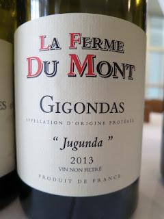 La Ferme Du Mont Côtes Jugunda Gigondas 2013 - Unfiltered, AP, Rhône, France (90 pts)