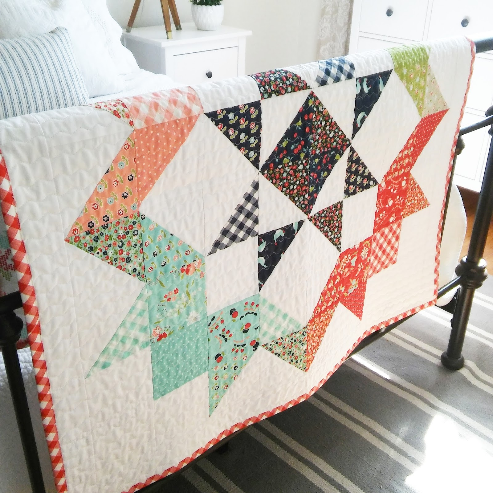 Happy Little Cottage Moda Love Quilt