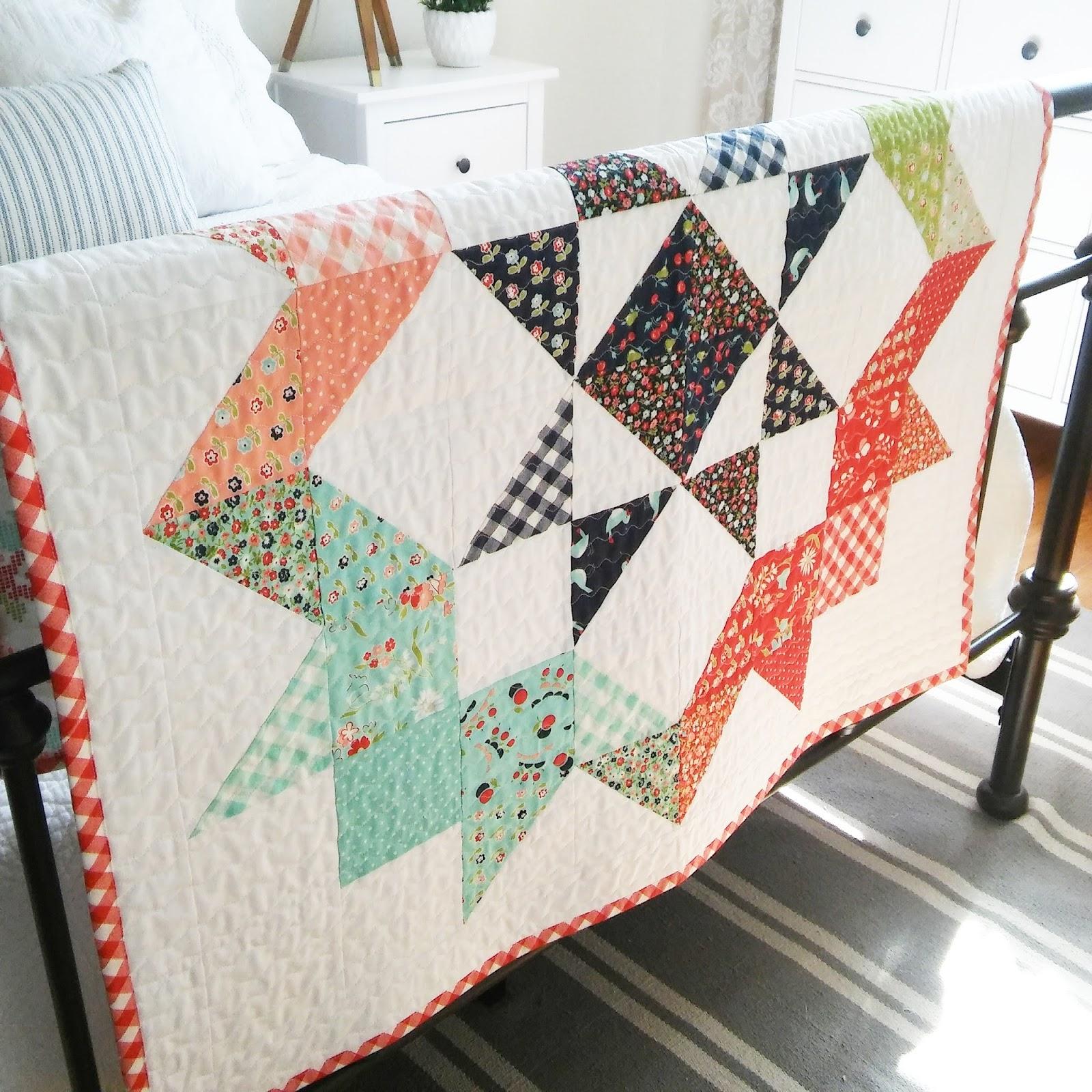 Happy Little Cottage Moda Love Quilt