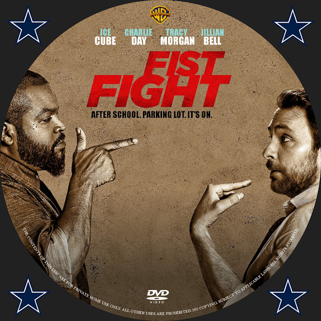Fist Fight DVD Label