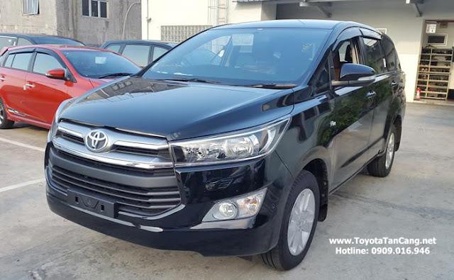 Liên hệ Hotline Toyota Tân Cảng để đặt xe Toyota Innova 2016 phiên bản hoàn toàn mới