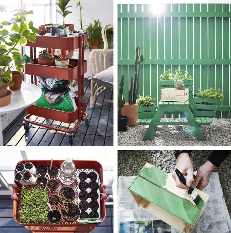 piccoli giardini creativi
