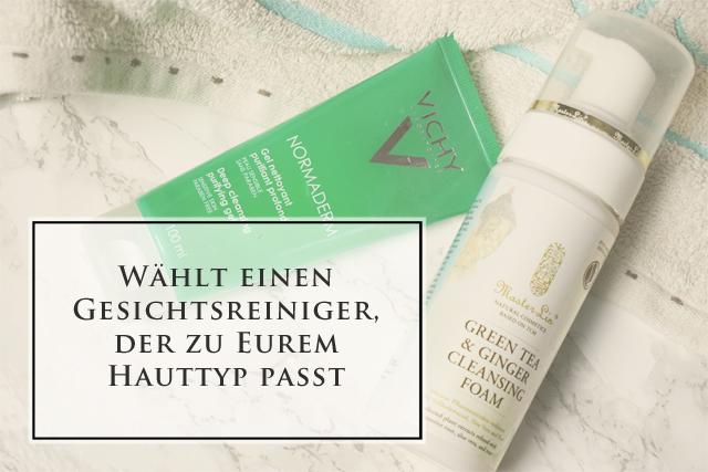 visionas Beautytalk 5 Tipps zur Gesichtsreinigung der richtige Cleanser