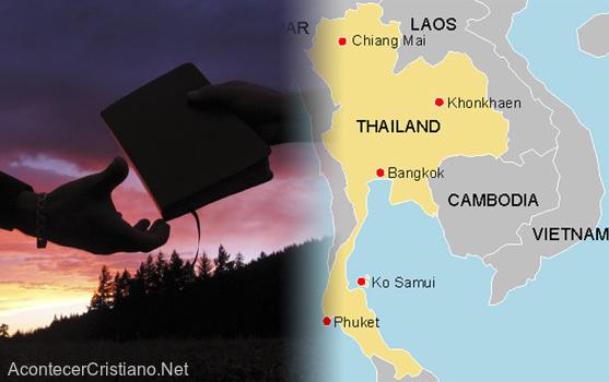 Misioneros comparten el Evangelio en Tailandia