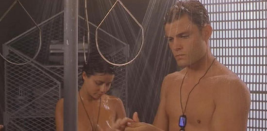 Coed naked men women changing rooms