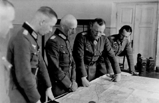 Field Marshal von Leeb with General erich Hoepner 30 June 1941 worldwartwo.filminspector.com