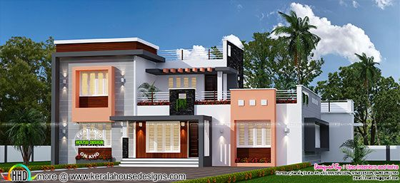 4 BHK, 2150 sq-ft modern house