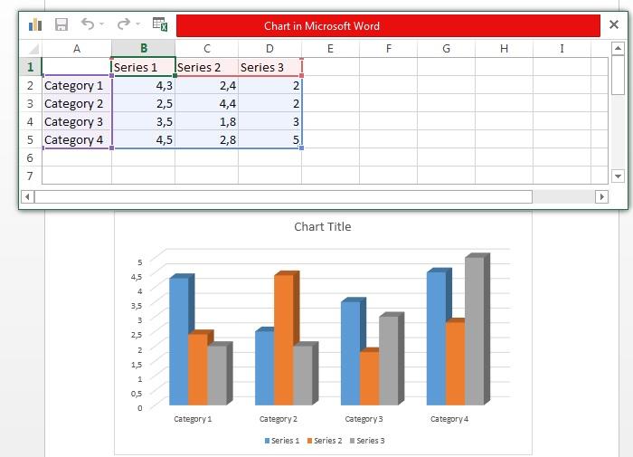 Cara membuat grafik di ms word grafik garis xy batang persentase menyisipkan grafik di ms word ccuart Image collections