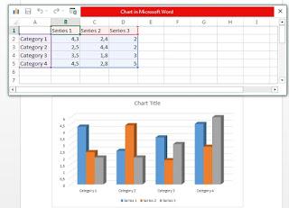 Menyisipkan grafik di ms word