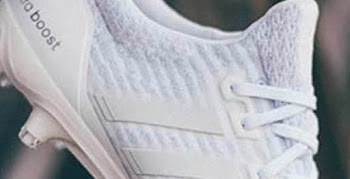 1899ac62f26 White Adidas Ultra Boost Cleats Revealed