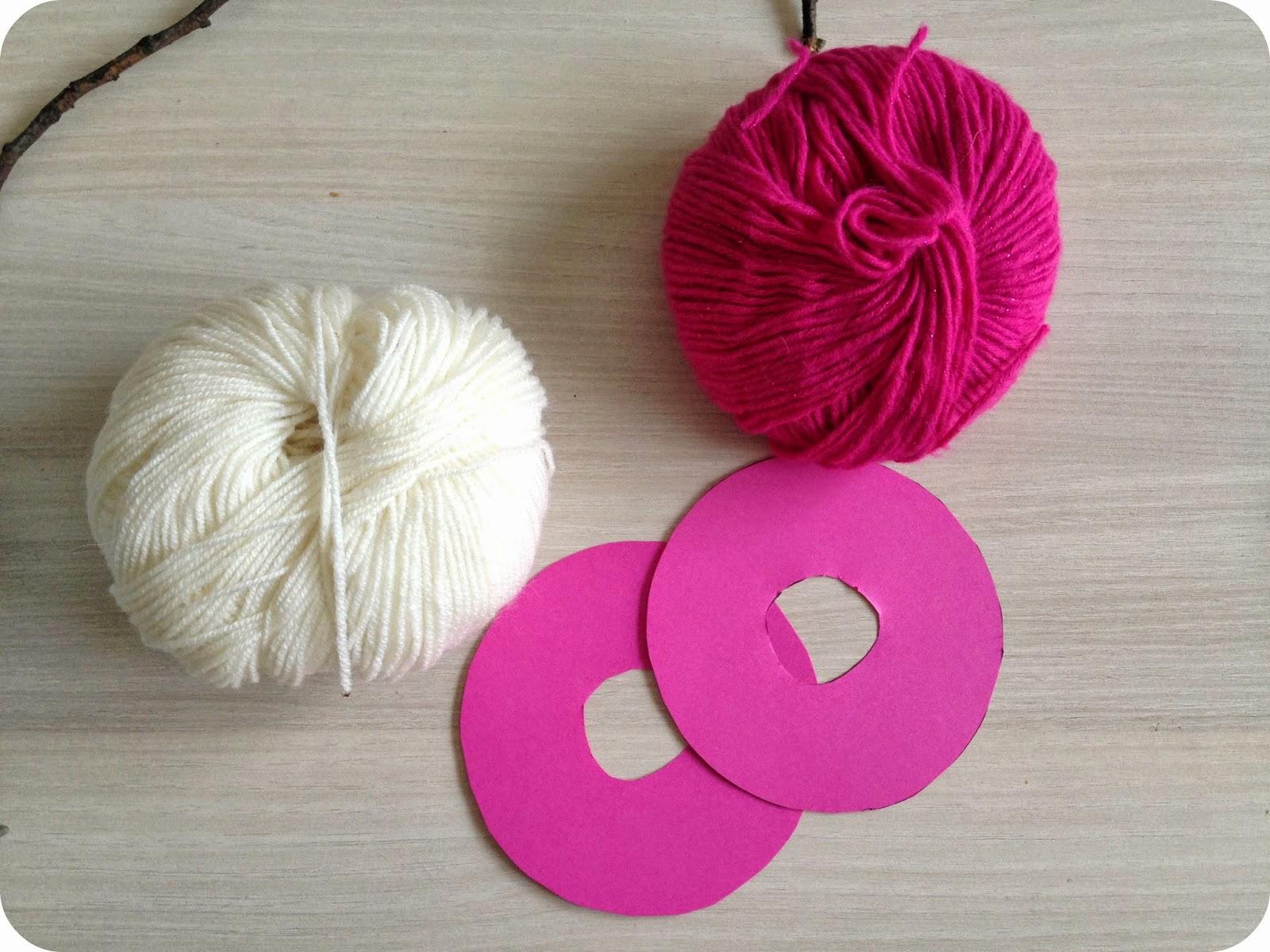 fabrication de gros pompons