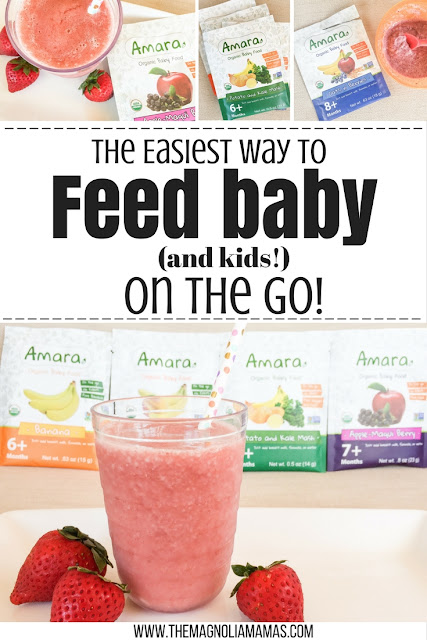 The easiest way to feed baby and kids a healthy meal while on the go.