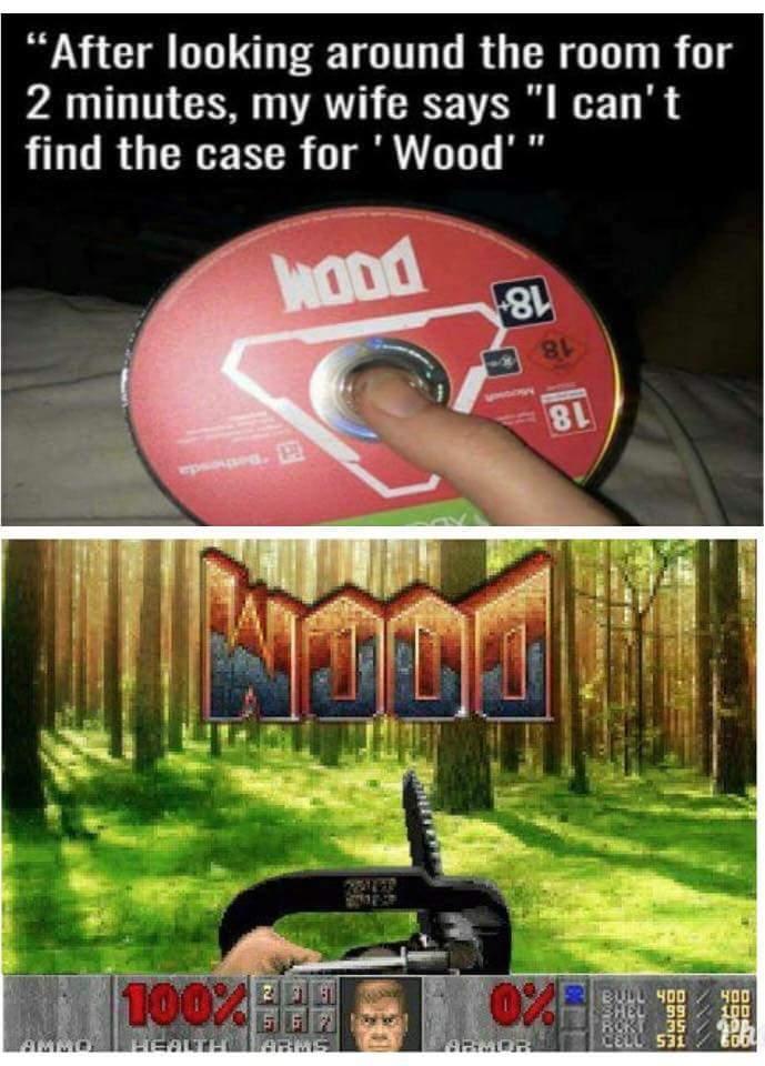 DooM ou WooD?