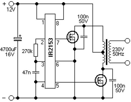 Tool Electric: Простой преобразователь 12-220 вольт 50 герц
