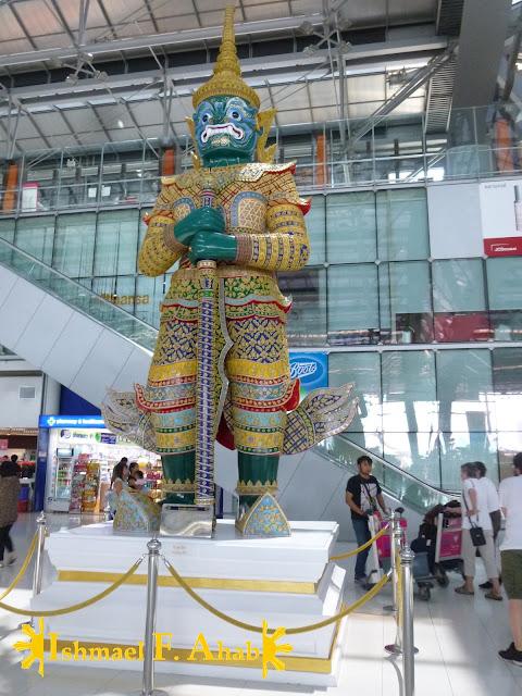 Indrajit in Suvarnabhumi Airport (Bangkok, Thailand)