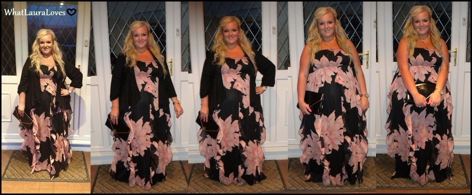 4a4eb4ded0a WhatLauraWore  Summer Evening Print Maxi Dress - What Laura Loves
