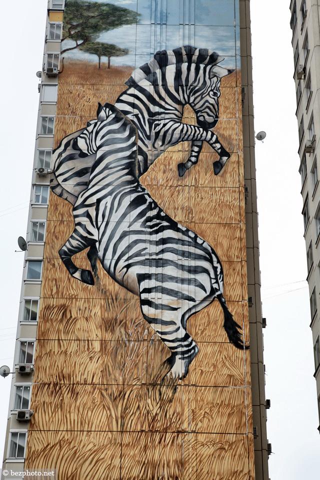 картинки граффити животные