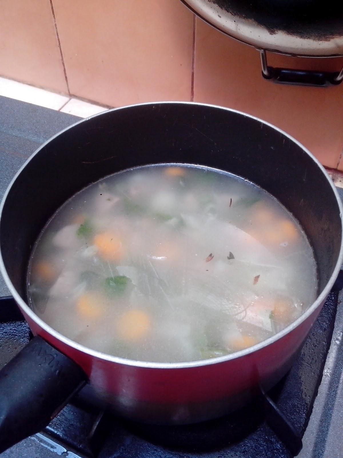 Cara Memasak Sop Bakso : memasak, bakso, Bakso