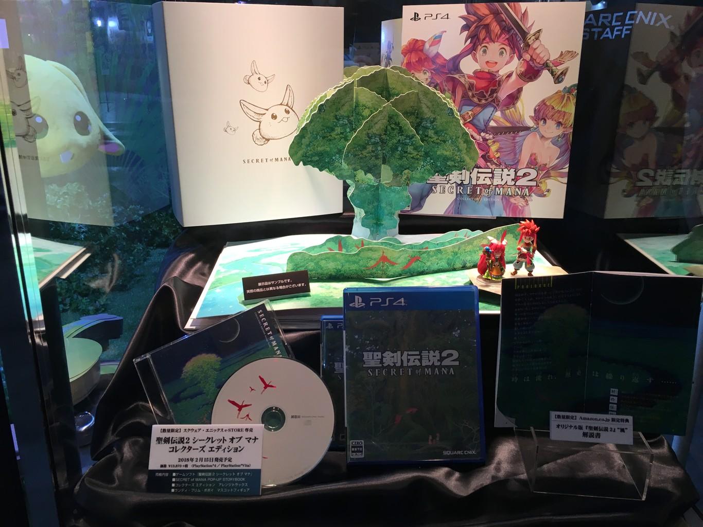 Secret of Mana Remake muestra su increíble edición coleccionista